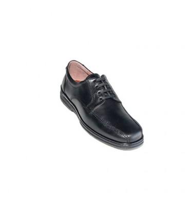 Cabos de sapato especiais para diabéticos muito confortáveis Primocx em Preto