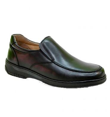 Cabos de calçados especiais para diabéticos extra confortáveis Primocx em Preto