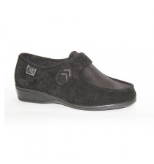 Velcro shoes very delicate feet Doctor Cutillas in black