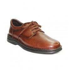Cadarços de sapatos muito resistente em marrom Tolino