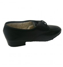 Shoe laces with sheep Mayjo in black