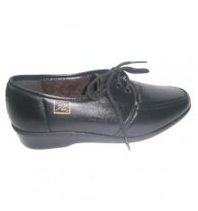 Comfortable shoe laces Doctor Cutillas in black