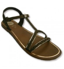 Braided straps buckled sandals with buckle Gioseppo in Camel