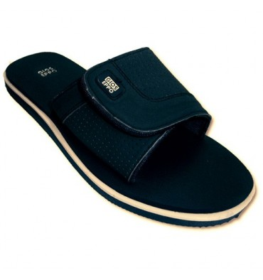 Sandals beach or pool with velcro strap Gioseppo in navy blue