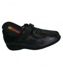 Shoes with Velcro valid templates Doctor Cutillas in black