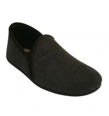 Slippers has closed with an elastic side Calzamur in brown