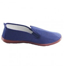 Slippers for tai chi, and yoga Kunfu Irabia in navy blue