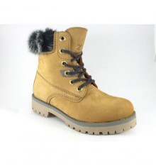 Timberland boot woman with Nordic hair type Calzados España in Camel