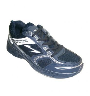 Man running sport type fabric Sometime in blue