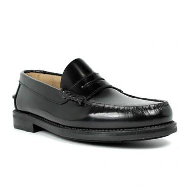 Castellanos rubber soles Edward´s in black