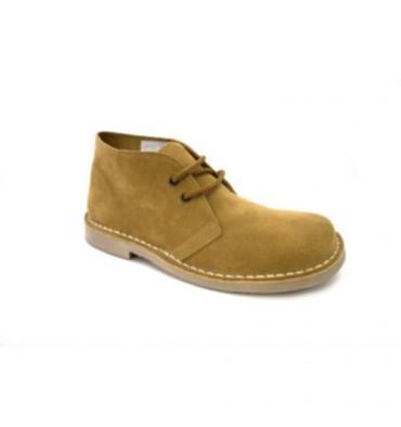 Wide toe boot safari Danka in Camel