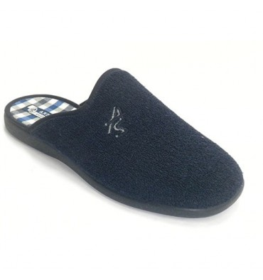 Thongs man closed-toe towel plant pictures Andinas in navy blue