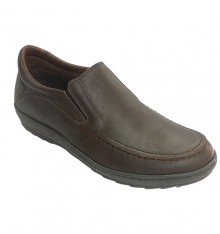 Fat man shoe sole with rubber on the sides Pitillos in brown