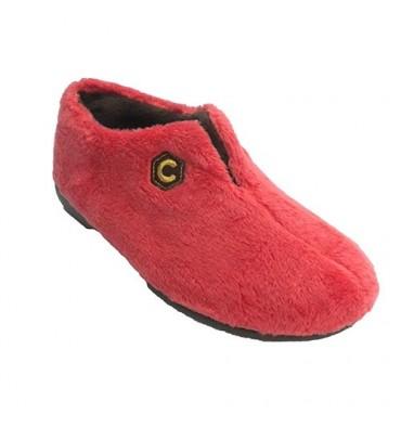 Tipo de sapato mulher ser despojos casa com a abertura no peito do pé COSTA em Laranja