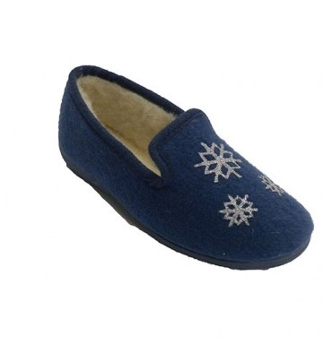 Shoe be home woman cloth with stars Soca in blue