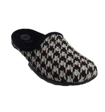 Flipflops be home in three colors combined woman Gioseppo in black