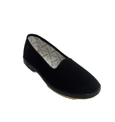 Zapatilla de cordones para persona mayor plana Doctor Cutillas en negro talla 38 wMfYCUT