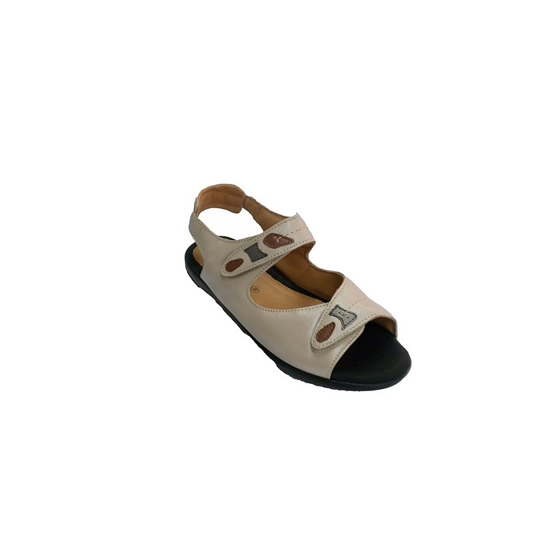 7d666099a Very comfortable woman sandal very soft plant with velcro Doctor ...