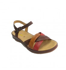 Women's striped sandal very comfortable Doctor Cutillas in various colors