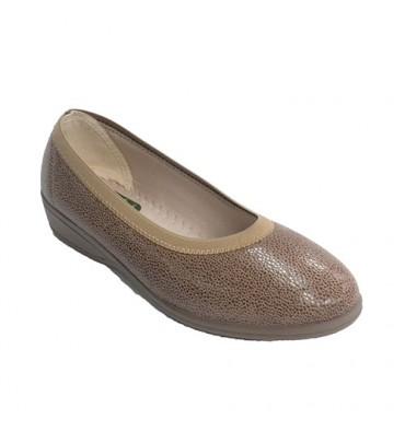 Sneaker all woman of Lycra Doctor Cutillas in medium brown