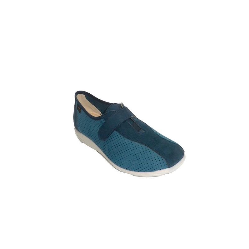 beb250a615c Women s Slip-On Sport Shoe Doctor Cutillas in navy blue model 964