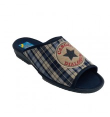 Flip-Flops be at home man toe and heel open Ruiz Bernal in navy blue