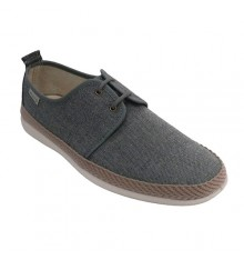 Zapatillla man lace edto esparto Muro in gray