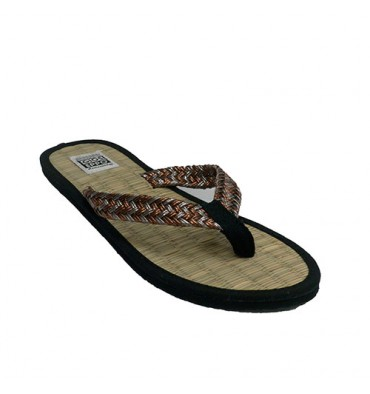 Flip flop beach woman finger sole straw Gioseppo in various colors