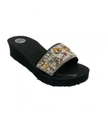 Flip flops beach pool Gioseppo in black