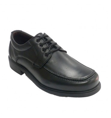 Men's lace-up shoe with instep NIFTY in black