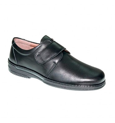 Men's velcro special shoe for diabetics very comfortable Primocx in black