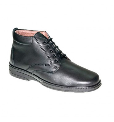 Special man's cords boot for diabetics very comfortable Primocx in black