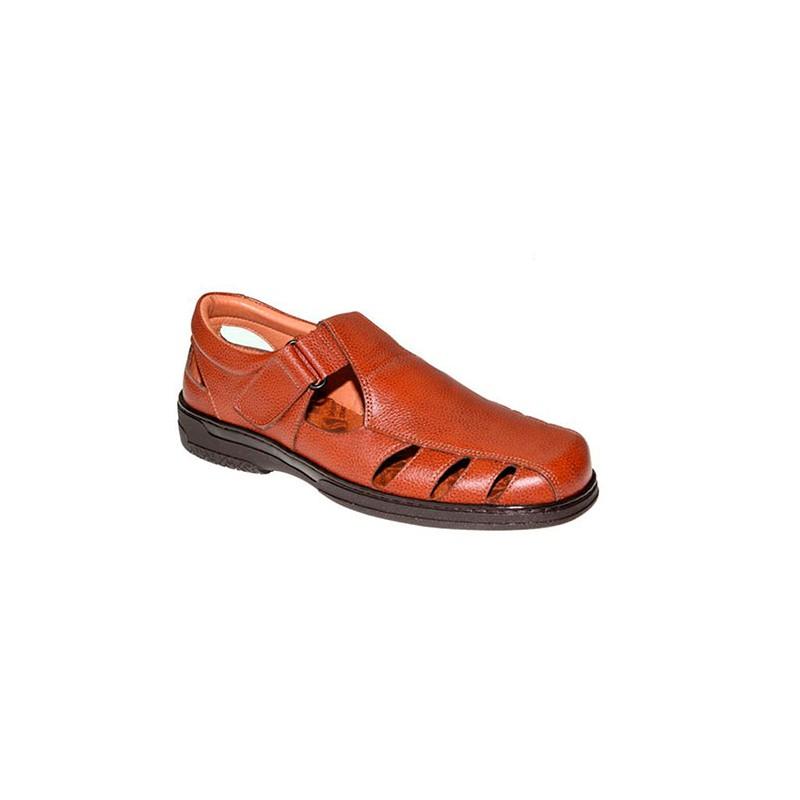 Especial Sandalias Para Diabéticos Hombre Primocx Cómodas Muy En Marrón qSpGUzMV