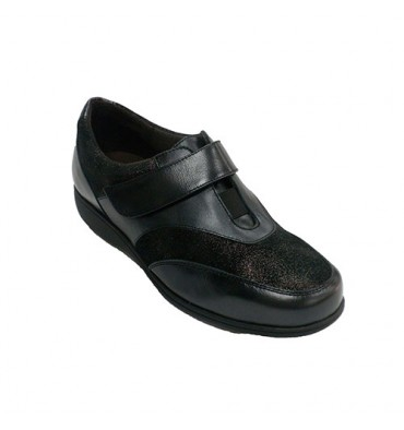 Women shoe with glitter Doctor Cutillas in black