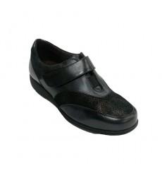 Zapato pala licra con gomas a los lados Doctor Cutillas en negro talla 39 2QXOAVKnk