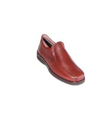 Zapato hombre especial para diabéticos muy cómodo Primocx en marrón
