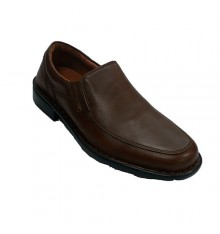 Shoe man with smooth shovel Fleximax in brown