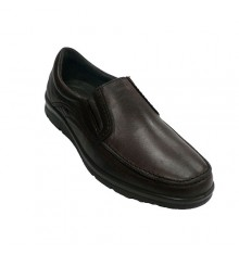 Zapato hombre pala lisa Pitillos en marrón