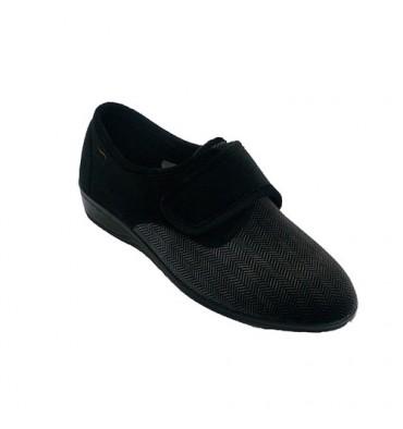 Sapato mulher tipo inverno tipo Doctor Cutillas em Preto