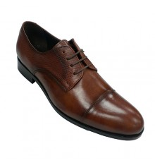Classic shoe dress man with laces Tolino in leather