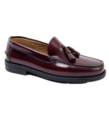 Castellanos tassels rubber sole Edward´s in bordeaux