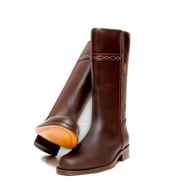 Classical jacket boot Danka in brown