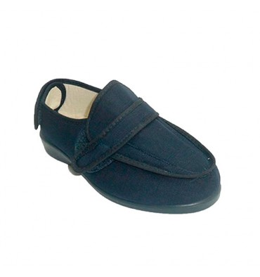 Super wide Velcro Sneakers Doctor Cutillas in navy blue