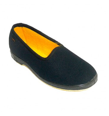 women shoes elderly person comfortable Doctor Cutillas in black