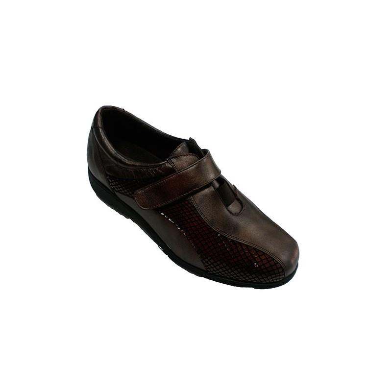 Zapato Cómodo Doctor Especial Plantillas Muy Para Mujer Velcro wKSPqHw4C