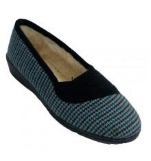Shoe woman very warm Soca in blue