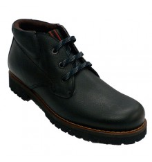 Men's leather boots Pitillos in black