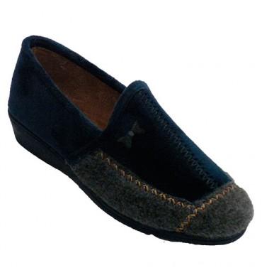 Women's closed winter shoe Soca in blue