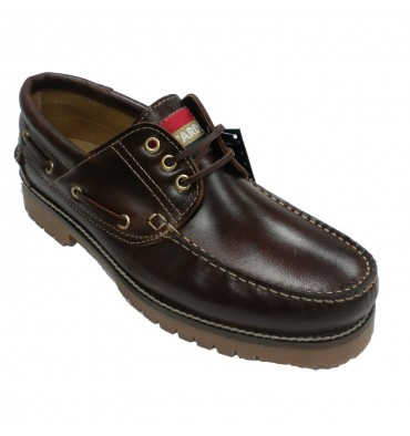 Man nautical larger sizes from 47 to 50 Edward´s in leather