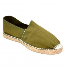 Alpargatas flat esparto Made in Spain in green